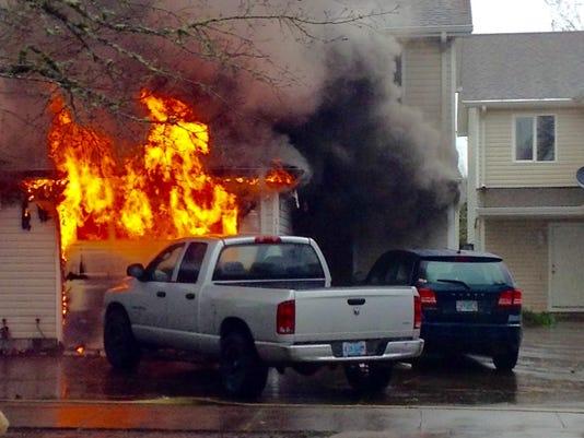 Dallas duplex fire