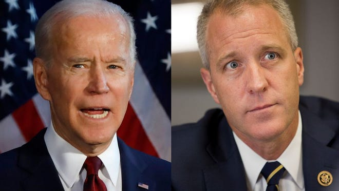 Rep. Sean Patrick Maloney announced his support on Monday for presidential candidate Joe Biden, saying the former vice-president's experience, progressive record and ability to unite Americans made him the best choice in the Democratic field.