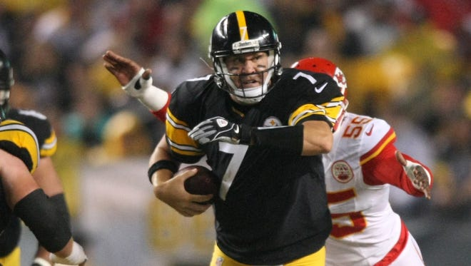 Steelers QB Ben Roethlisberger had little trouble with the Chiefs earlier this season.