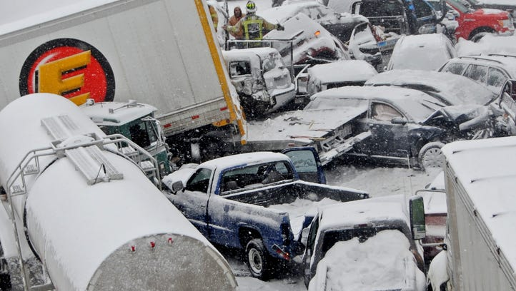 Special cops work to unravel confusing highway pileups