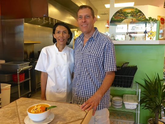Owners Ning and Ryan Smith of Thai Nawa in Cape Coral.