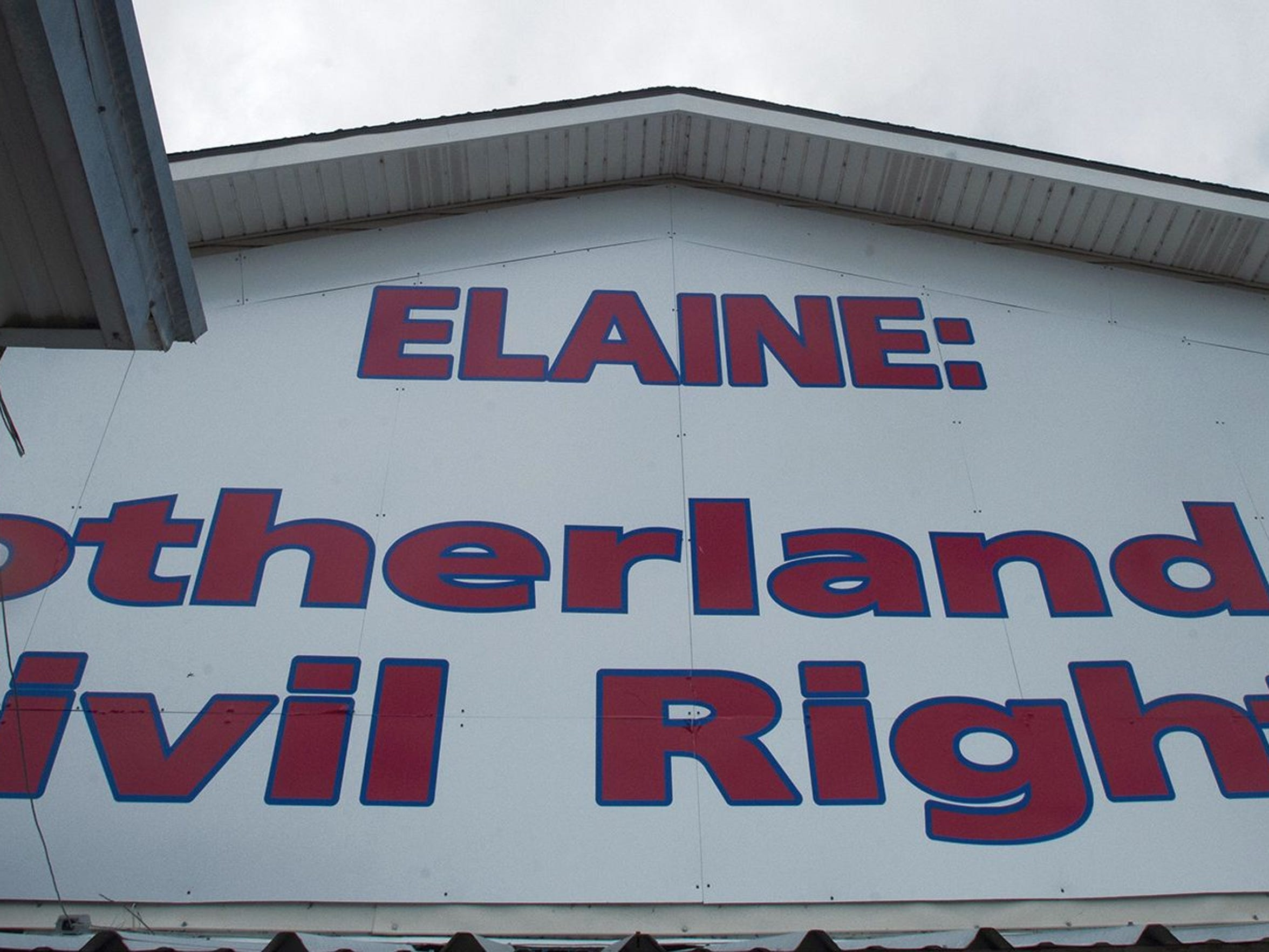 A view of the Elaine Legacy Center in Elaine, Ark.,