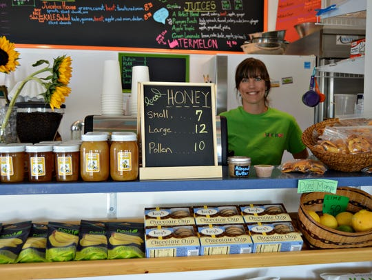 Lisa Daisey, owner of Juicebox in Ocean View, will
