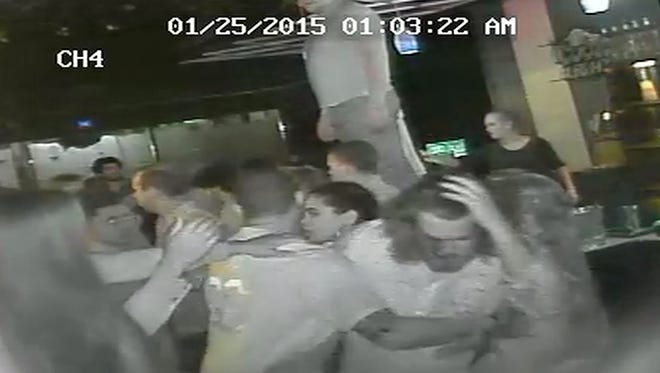 Video of a January fight at a bar in Richmond, Ky.