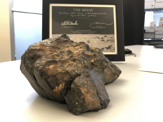 Moon Rock Auction