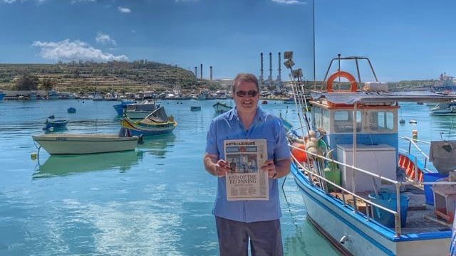 MALTA                                                                                                     Kevin Z. Smith of Gahanna enjoys the Mediterranean fishing village of Marsaxlokk. Malta's three islands are small and sightseeing options are many. He recommends using inexpensive hop-on-off, open-air buses for touring.
