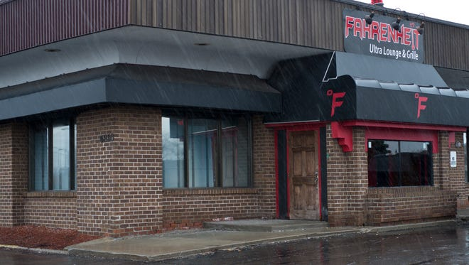 The Fahrenheit Ultra Lounge and Grill on the 6800-block of South Cedar Street in Lansing is the site where three people were shot early Sunday.