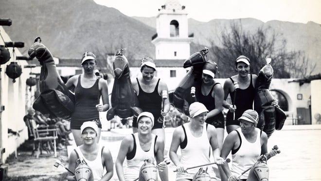 Water polo at the El Mirador Hotel