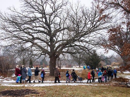 Boerner Botanical Gardens in Hales Corners hosts Winterfest this weekend.