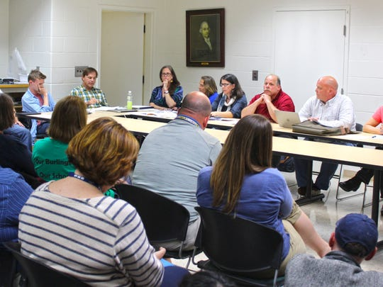 After failing to find common ground while bargaining with the district's teachers, the Burlington School Board approved a resolution to adopt a one-year employment policy, essentially imposing a teacher contract, at Thursday night's meeting.