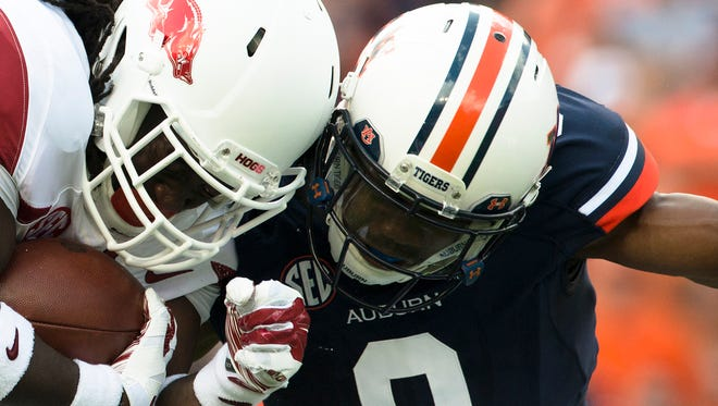 Auburn safety Jermaine Whitehead is suspended indefinitely.