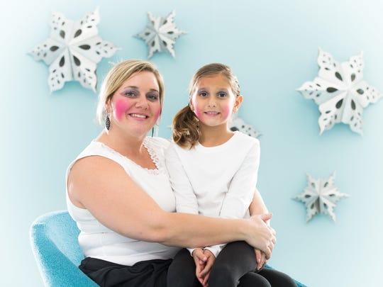 Amber Madmoni and her daughter Reyah Madmoni.