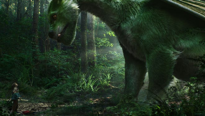 """A still from Disney's """"Pete's Dragon."""" The movie opens Thursday at R/C Hanover Movies  and Friday at Regal West Manchester Stadium 13 and Frank Theatres Queensgate Stadium 13."""