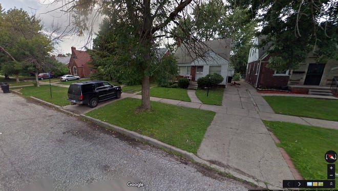 Houses in the 19900 block of Spencer Avenue in Detroit include Cape Cod and Tudor inspired styles.