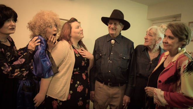 """The original play, """"Banging the Bell: A Texas Comedy in Two Acts,"""" by El Paso playwright Ted Karber Jr., will be performed beginning Friday through June 4 at the El Paso Community College Forum Theater, EPCC Transmountain campus, 9570 Gateway North."""