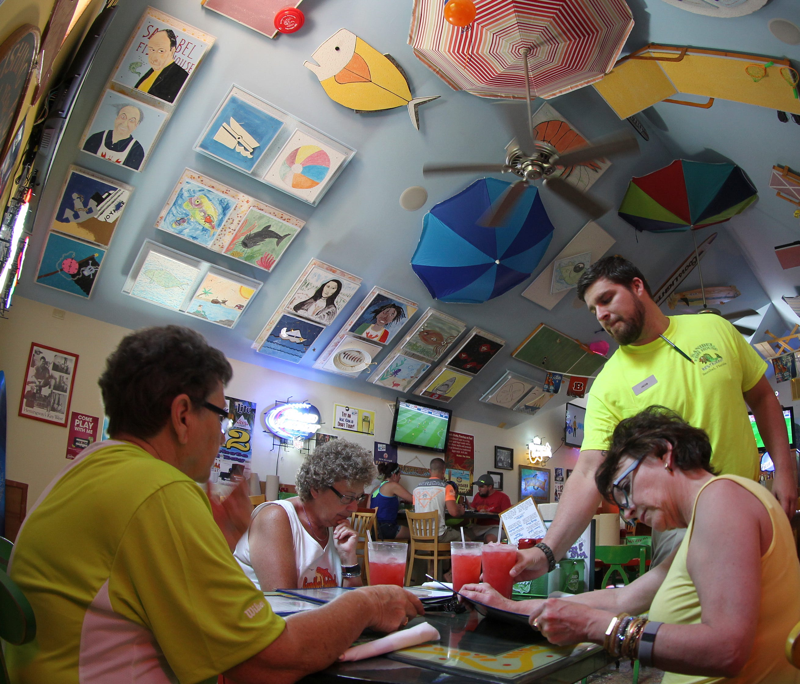 Fish House Restaurant Fort Myers Beach: Diners Want Noise Off Restaurant Menus