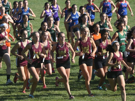 The Arlington girls get off to a quick start during