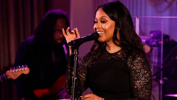 FILE - In this Aug. 2, 2016, file photo, singer Chrisette