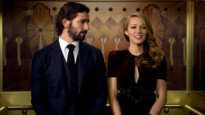 "Michiel Huisman, left, and Blake Lively in a scene from the motion picture ""The Age of Adlaine."" CREDIT: Diyah Pera, Lionsgate [Via MerlinFTP Drop]"