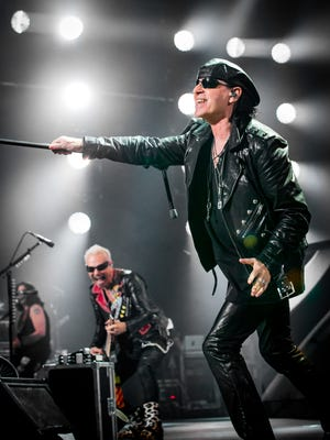 The Scorpions will be performing Tuesday at the Don Haskins Center on the University of Texas at El Paso campus.