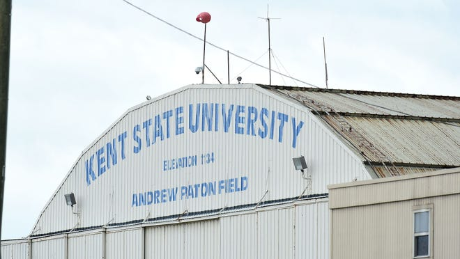 A drone flying near the Kent State University Airport in late May caused enough concerns that the airport reported the matter to the police. But the university such incidents are rare and the airport is usually on good terms with area drone operators, some of them KSU students.