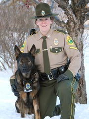 Vermont State Police Cpl. Michelle LeBlanc and her