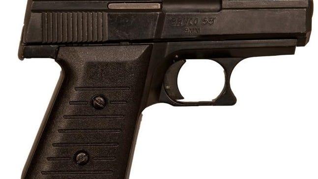 A Virginia man was convicted Thursday of trafficking guns in a Pennsauken parking lot.