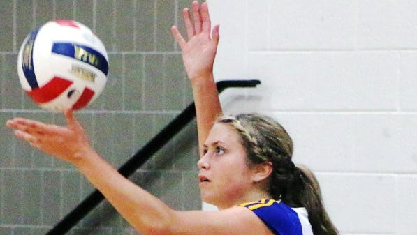 Madonna University junior setter Spencer Stokes finished with 196 assist-to-kills in the Embry-Riddle Labor Day Classic.