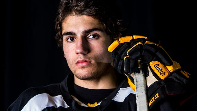 Former Green Bay Gamblers forward Nick Schmaltz will skate for North Dakota in the fall.