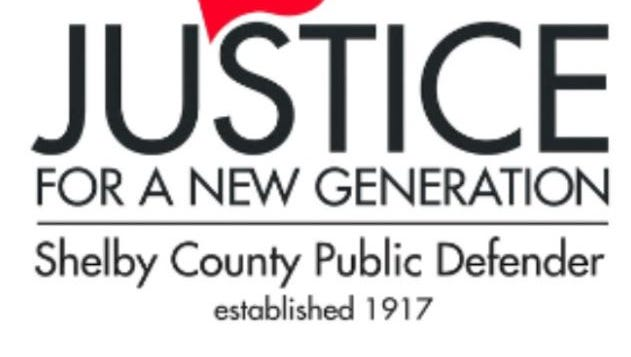 The logo for the Shelby County Public Defender's office.
