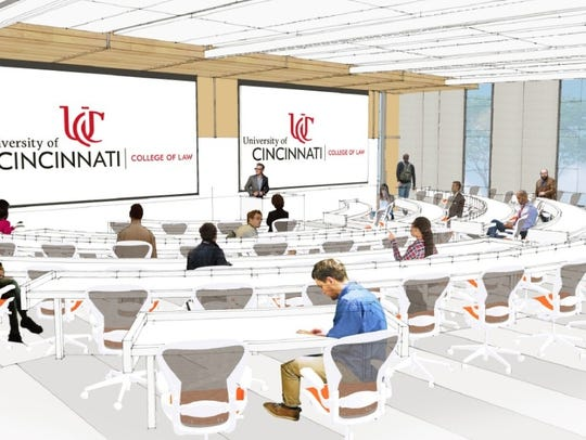 The $40 million renovation of Lindner Hall would enlarge