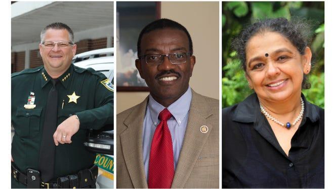 Left to right: Wayne Ivey, Robert Jordan and Ambika Ravindran.