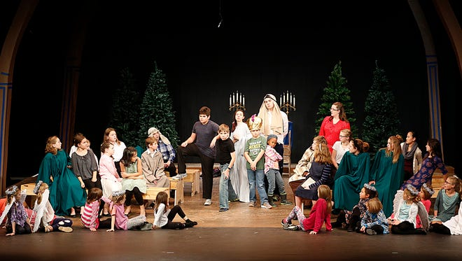 """The cast of """"The Best Christmas Pageant Ever"""" will spread Christmas cheer when the production opens on Wednesday, Nov. 29. The play will have six shows, running through Sunday, Dec. 3 at UW-Fond du Lac's Prairie Theatre."""