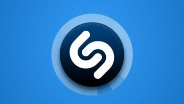 An image of the Shazam app showing information about an identified track.