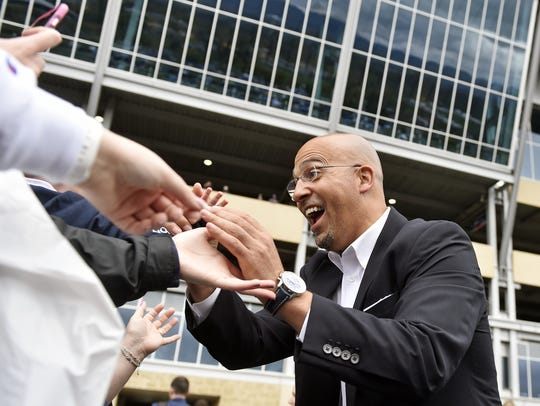 James Franklin is the ultimate people-person as Penn