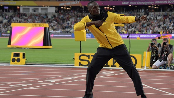 Usain Bolt is confident his records will stick around.