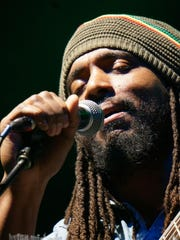 Dwayne Anglin performs with The Wailers, which come to the College of St. Benedict on Saturday.