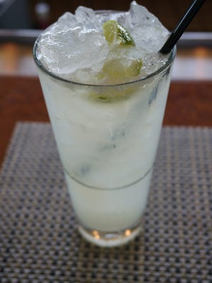 Caipirinha at Vue Grille and Bar at the IW Club