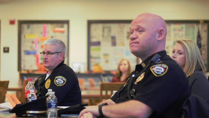 Marion police hopeful regular meetings can build rapport with residents