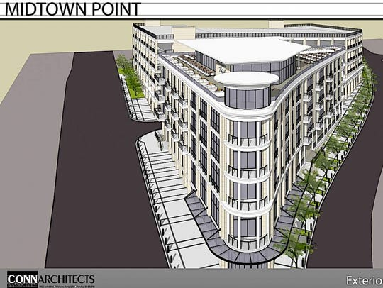 The Midtown Pointe would be a mixed-use development