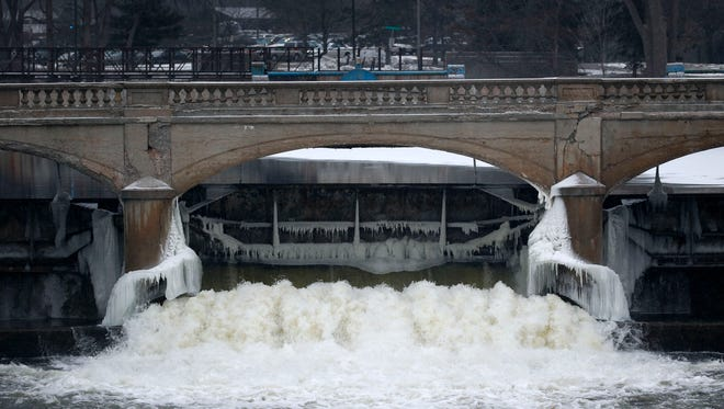 Flint drew its water from the Flint River, shown Jan. 21, 2016, for almost two years.