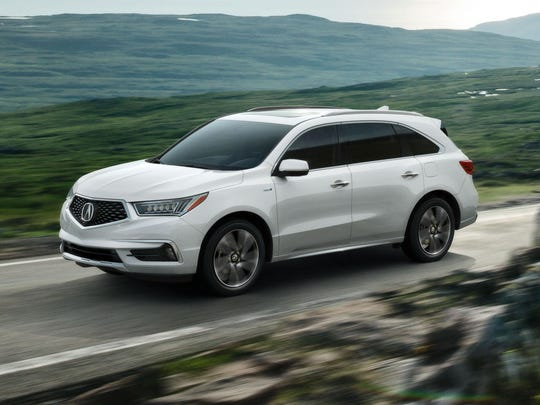 Acura MDX Debuts With New Diamond Pentagon Grille - Acura mdx front grill