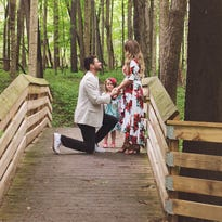 Westfield man pops the question — then adorably 'proposes' to fiancé's daughter