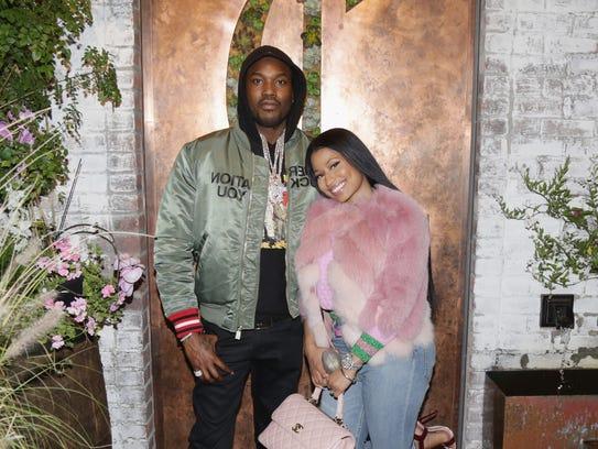 Meek Mill and Nicki Minaj in Nov. 2016.
