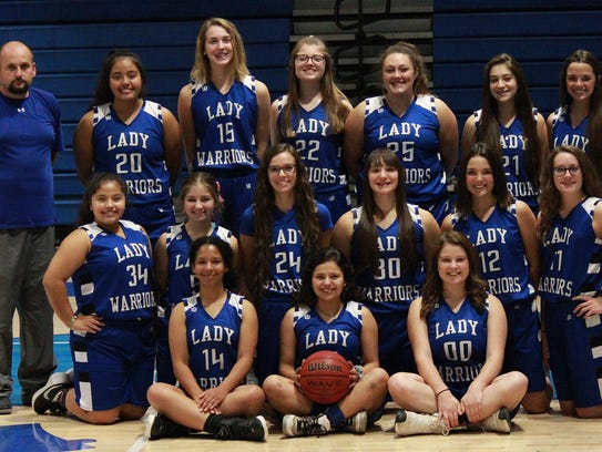 2017-18 Cotter Lady Warriors