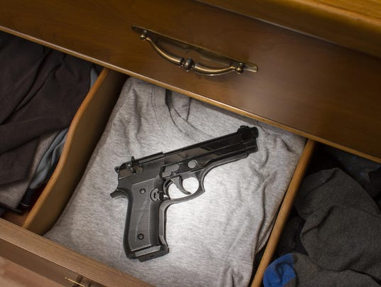 Are there firearms in the homes your children play in?
