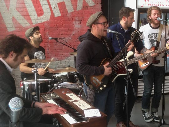 Bob Reuter's Alley Ghost will play at Foam City on Saturday as part of Blitzkrieg Bash.