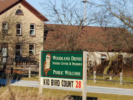 Woodland Dunes Nature Center and Preserve in Two Rivers.