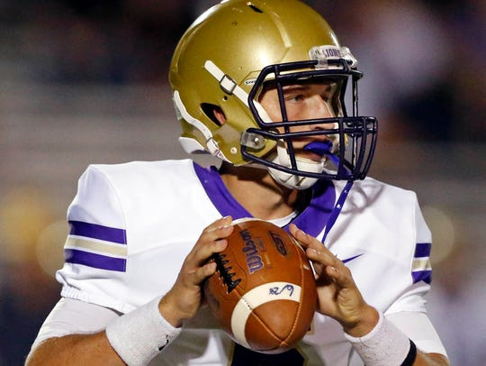 CPA quarterback Ryan Eledge