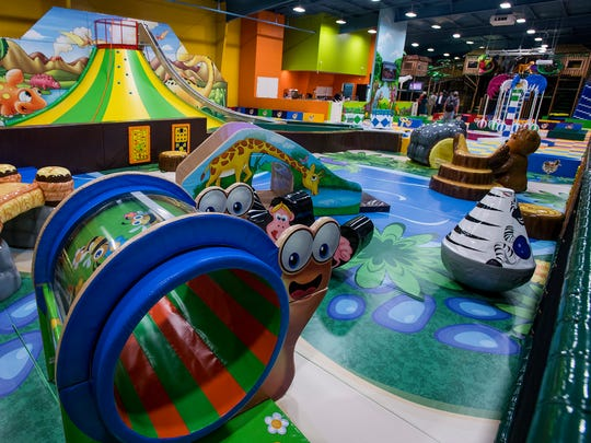 The grand opening of NewTopia Fun Park in Montgomery, Ala. is held on Wednesday July 18, 2018.